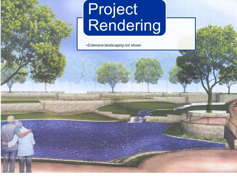 Mims Park stormwater device