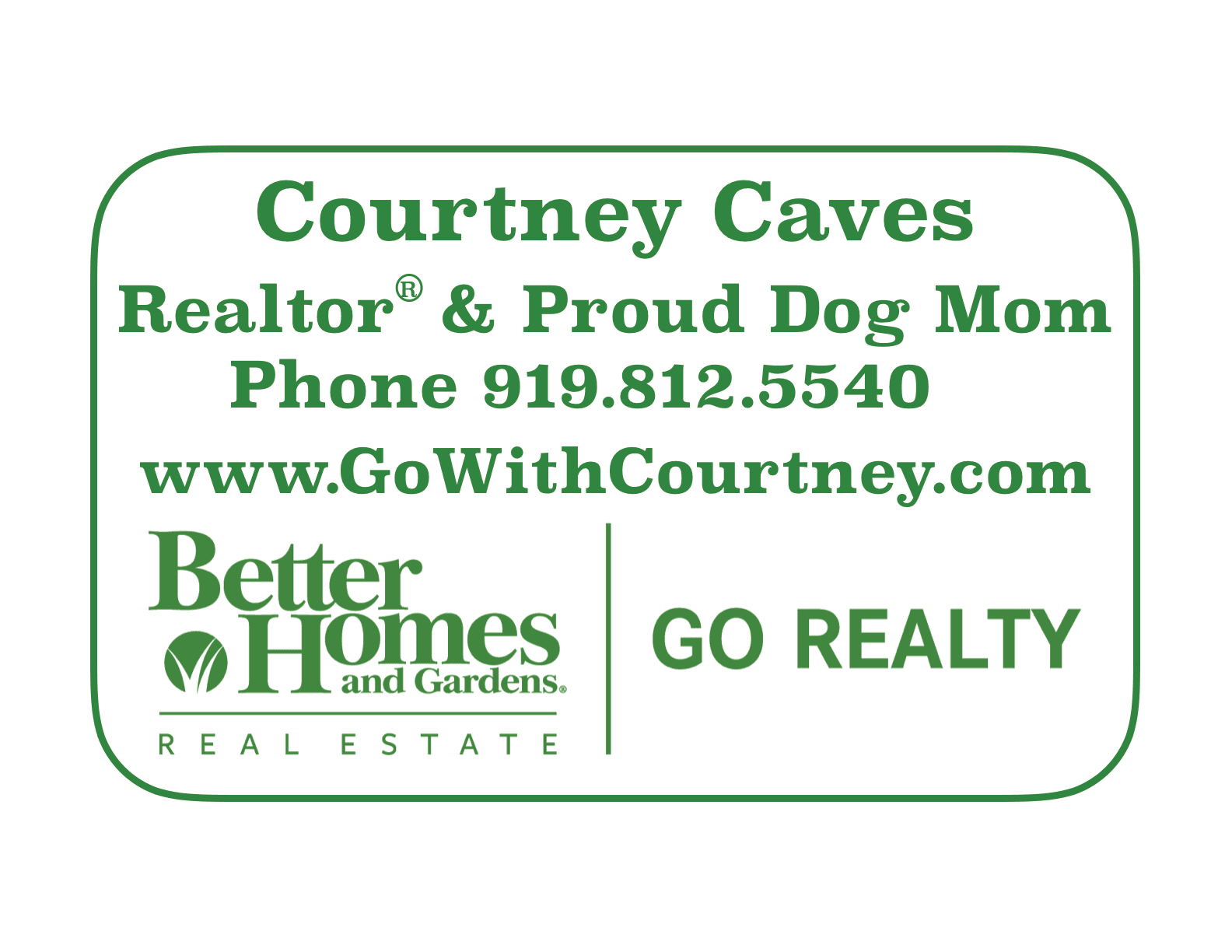 Courtney Caves logo for Dog Days
