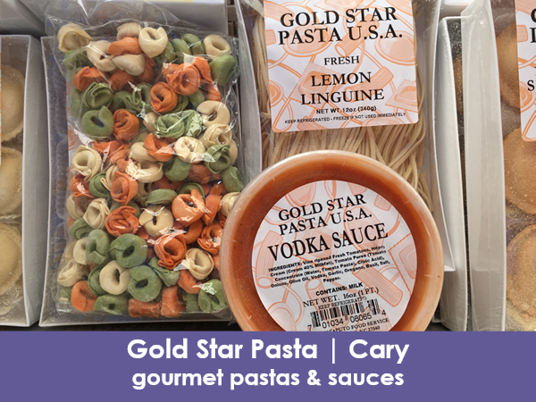 Gold Star Pasta, Holly Springs, gourmet pastas & sauces
