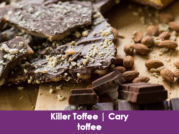 Killer Toffee, Cary, toffee