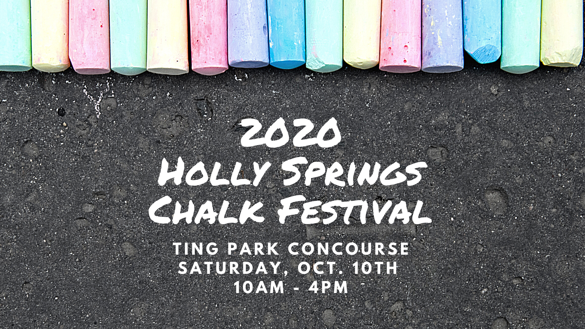 2020 Holly Springs Chalk Festival event cover