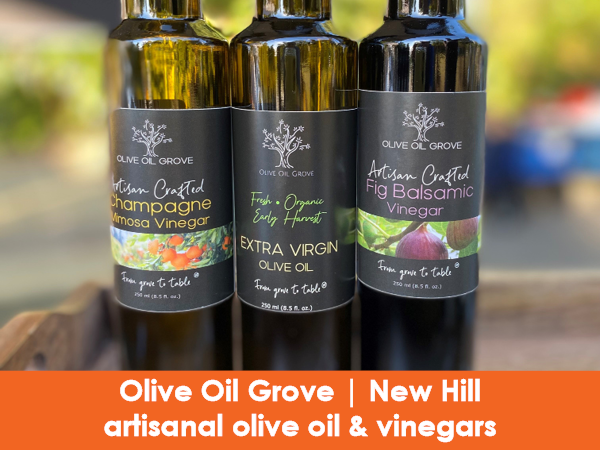 Olive Oil Grove, New HIll NC, Olive Oil
