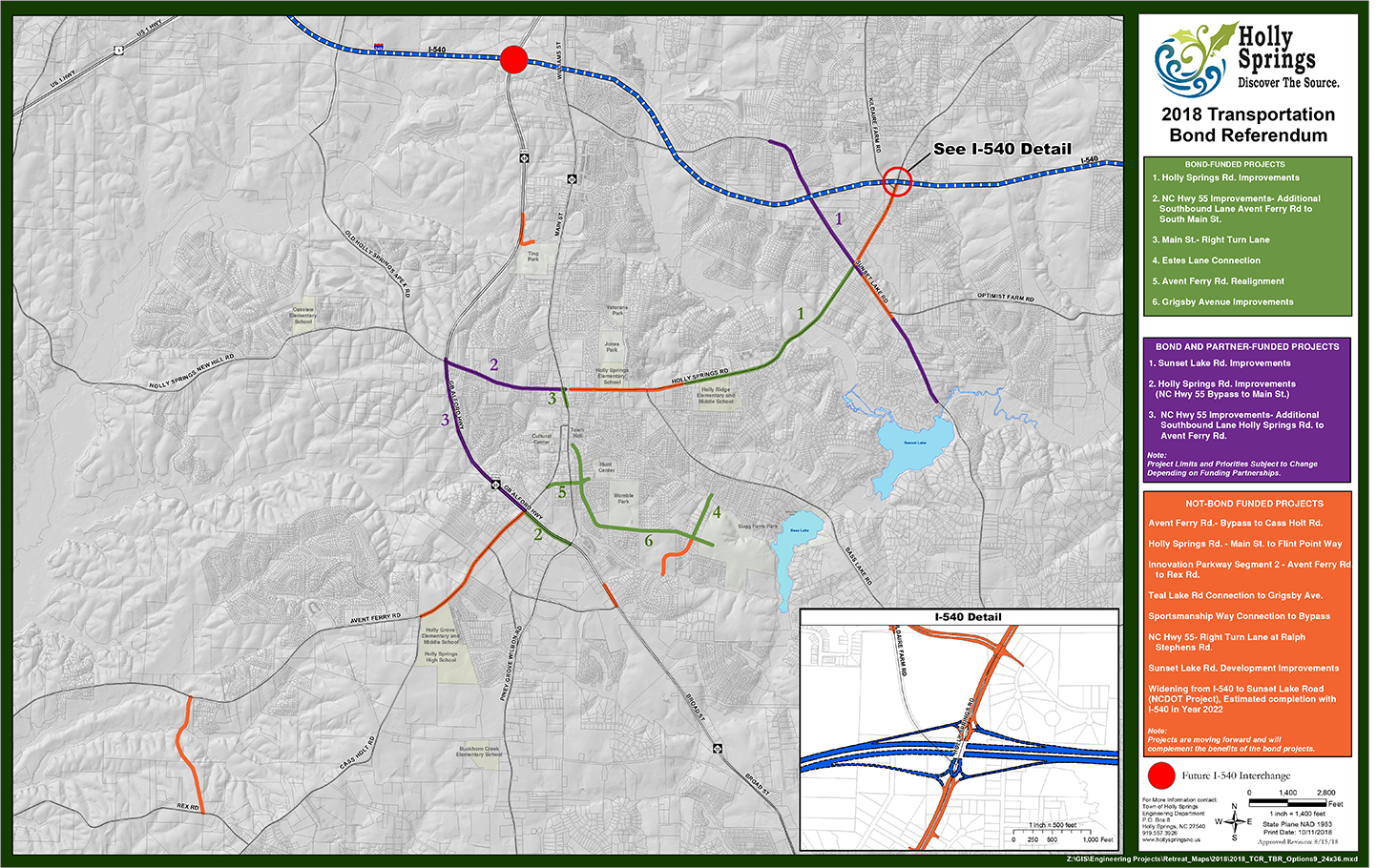 Transportation Projects Map