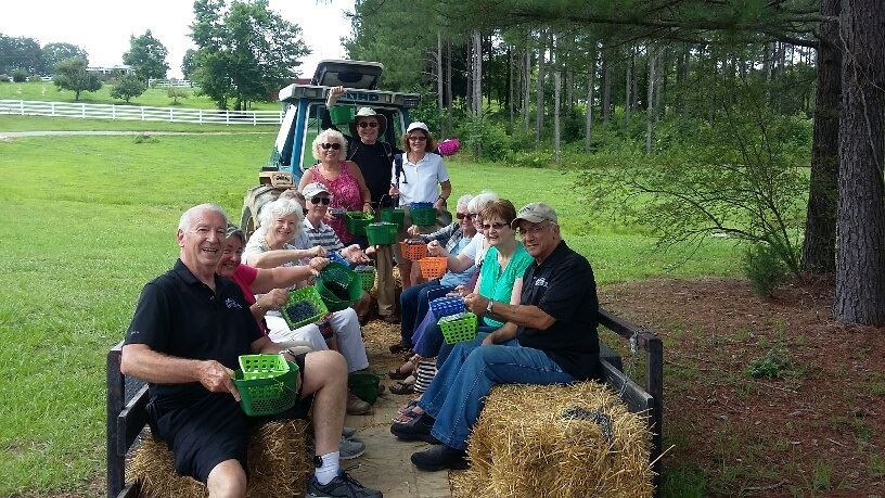A Hayride During The Millstone Creek Orchard Tour